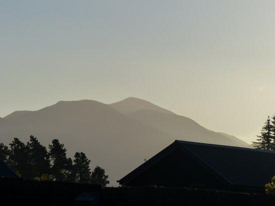 Mountains surrounding Hanmer Springs.