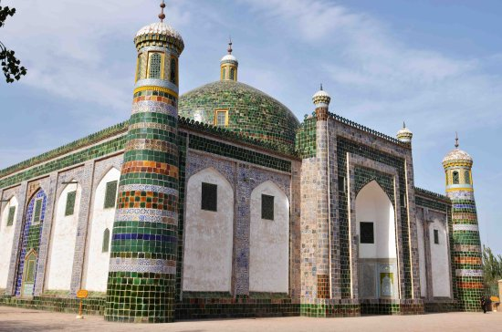Abakh Hoja Tomb: The tomb
