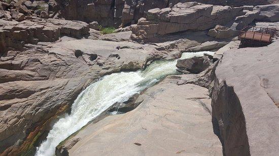 Augrabies Falls National Park, Sudáfrica: Falls at low water flow