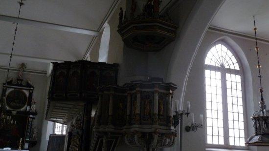 Stadtkirche Glueckstadt: Prædikestol
