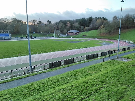 I can see the Finish Line - Picture of Mary Peters Track, Belfast