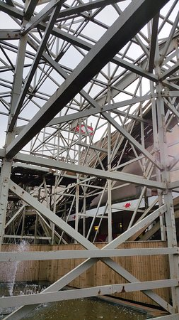 Pleasure Beach : The old Wild Mouse