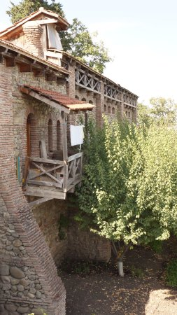 Bodbe Monastery of St. Nino: Балкончик