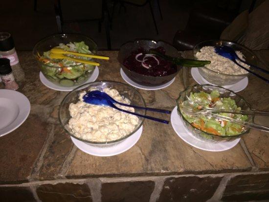 Bethanie, Namibia: Salads