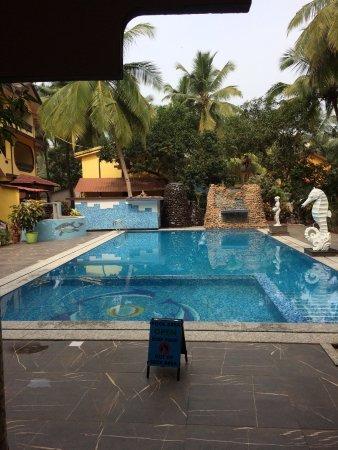 Seaview Resort: Der Pool im Dezember 2016