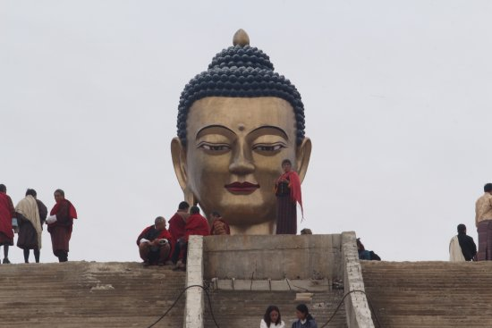 Thimphu District, Bhutan: massive statue of Shakyamuni measures in at a height of 51.5 meters