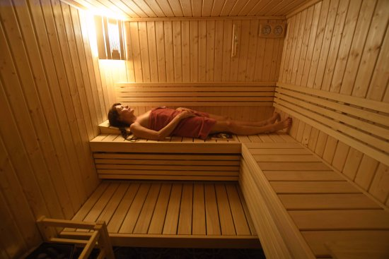 Le sauna de La Milonga bed & breakfast