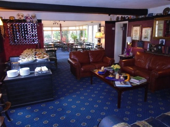 Church Stretton, UK: Conservatory &  Function Room.
