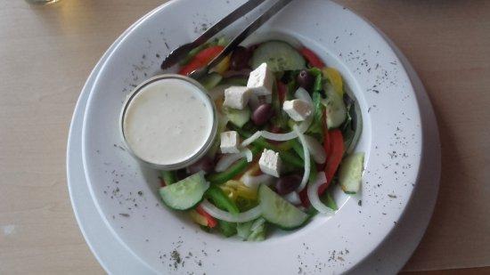 Marloth Park, South Africa: Salade grecque