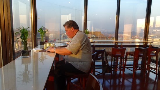 Novotel Beijing Peace: Breakfast with a view!