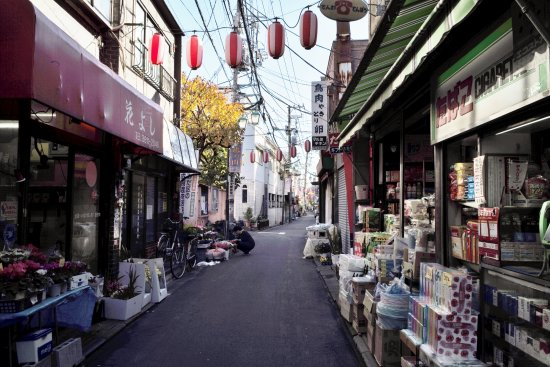Hatonomachidori Shopping Street
