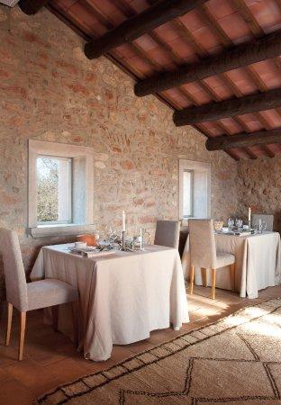 Castelladral, İspanya: El comedor situado en el antiguo Pajar