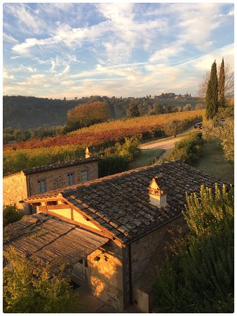 Guardastelle - Agriturismo and vineyard : View from our bedroom