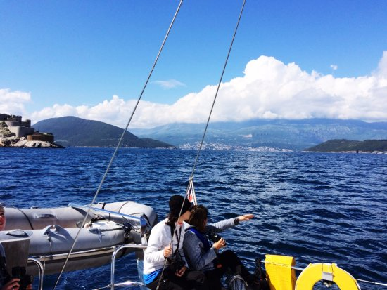 Indigo Blue Sailing: Somewhere between Montenegro and Croatia