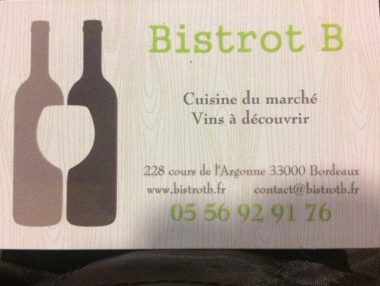 Photo0 Jpg Picture Of Bistrot B Bordeaux Tripadvisor