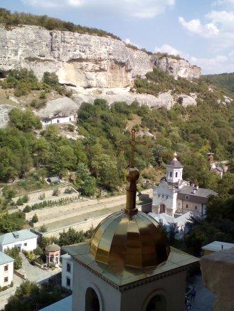 Bakhchisaray: вид сверху