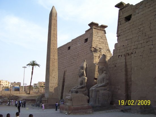 Cairo Governorate, Egipt: Luxor temple