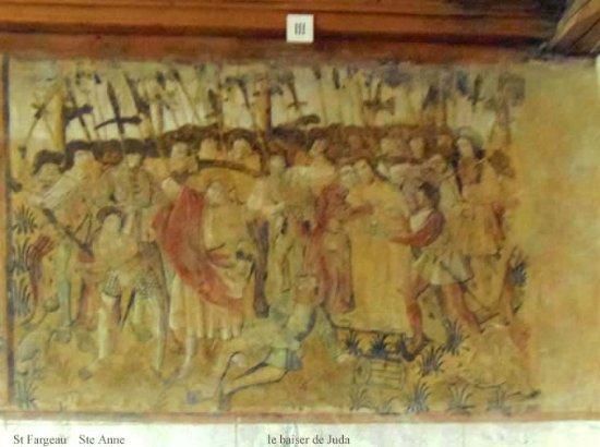 Saint-Fargeau, France : crucifixion