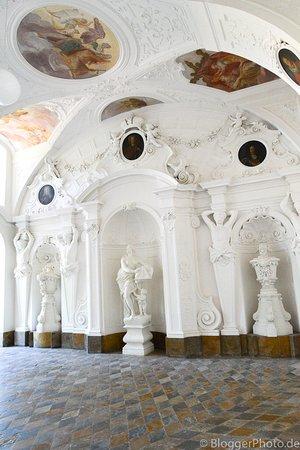 Fuldaer Stadtschloss: Übergang zum Park