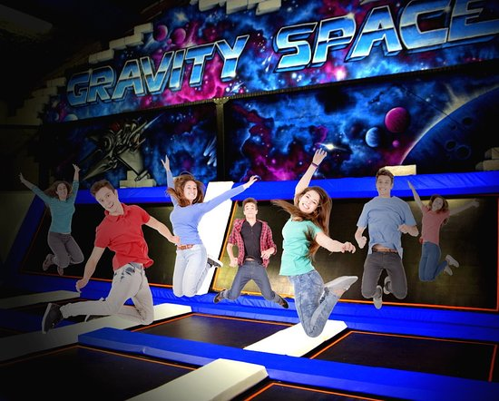 ‪Gravity Space Trampoline Park‬