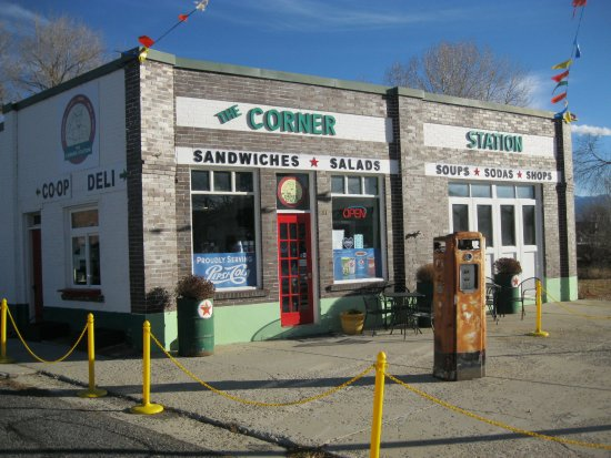The Corner Station in Fairview, on Highway 89