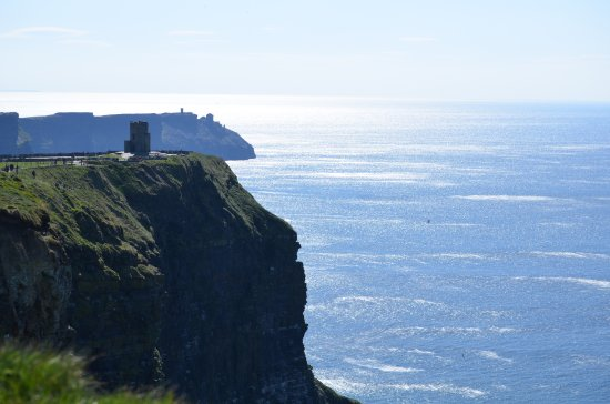 Kilkee, Ireland: O'Brien's Tower at the Ciffs of Moher on The Wild Atlantic Way