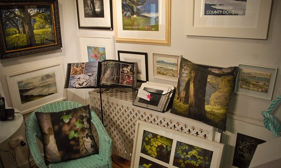 Dunfanaghy, Irlanda: Some beautiful paintings and photographs celebrating the magical beauty of Ards Forest