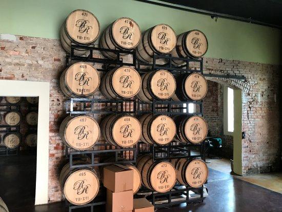 Richland, GA: Aging racks