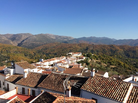 Cartajima, Spanyol: view form the roof terrace