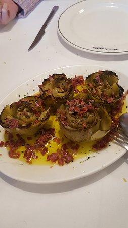 Asador Restaurante Trinkete Borda: alcachofas
