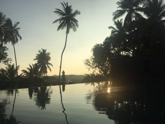Angulugaha, Sri Lanka: sunset