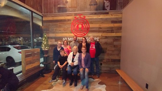 Murfreesboro, Tennessee: Our group, ages 10 - 79 (my Mom)