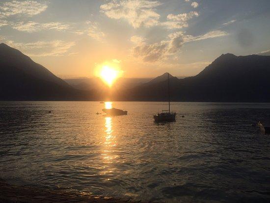 Lombardiet, Italien: Sunset