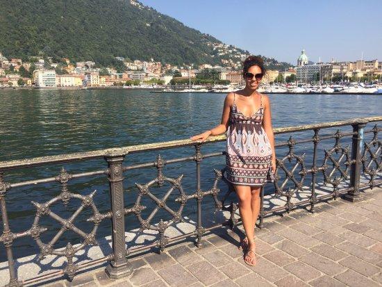 Lombardiet, Italien: Beginning of Lake Como