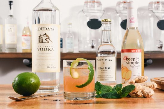 "Huntly, VA: Dida's Distillery ""Rappahannock Mule"", made with local VA Craft ingredients!"