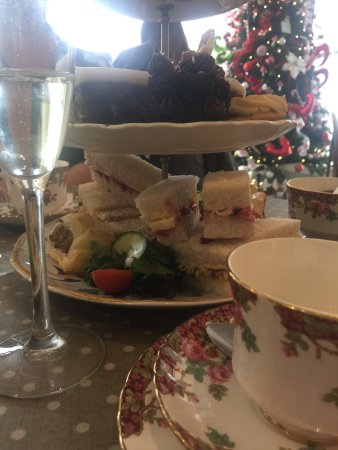 """Halstead, UK: So was treated here today for my birthday by a friend to a """"festive afternoon tea"""" - and what a"""