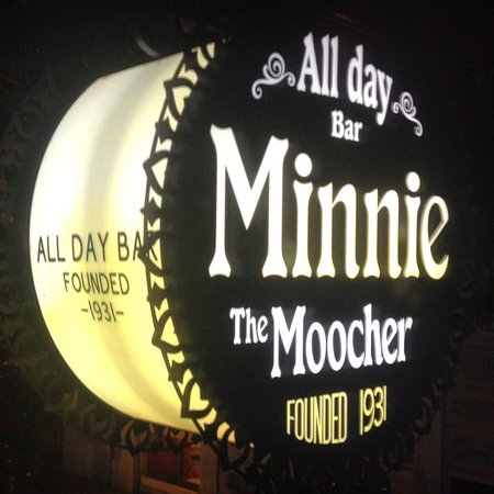 Minnie The Moocher - Bar