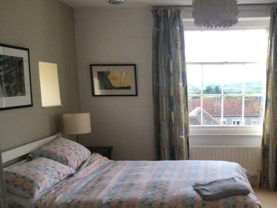 Axbridge, UK: Magnificent views from bedroom