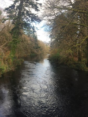 Recess, Ireland: Fly fishing river