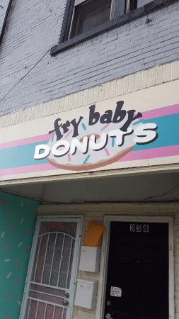 Fry Baby Donuts: Don't blink - or you'll miss it!