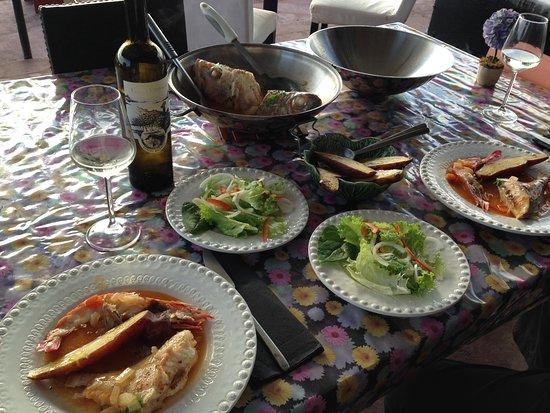 Faja Grande, โปรตุเกส: Jantar no Maresia
