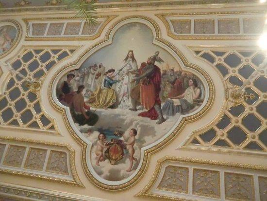 Palacio del Marqués de Dos Aguas: ceiling artwork