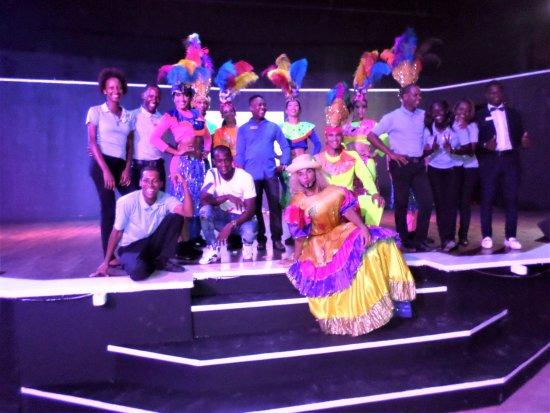 VIK Hotel Arena Blanca: Animation Team with Folkloric dancers