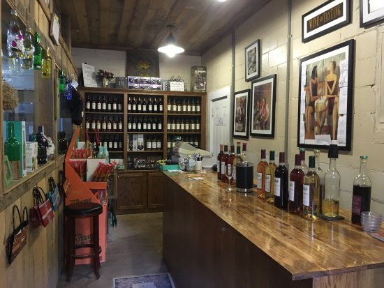 Warm Springs, GA: Cozy Tasting Room