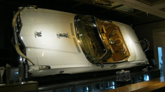 Crystal Palace and Museum: Car Behind The Bar