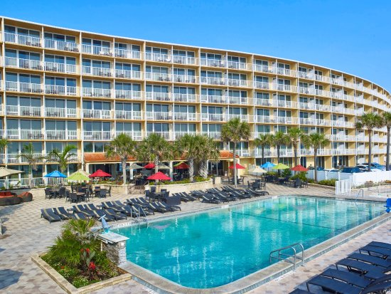 Daytona Beach Hotels Map on