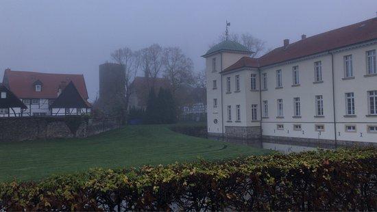 Herten, Niemcy: Klassisch neblig