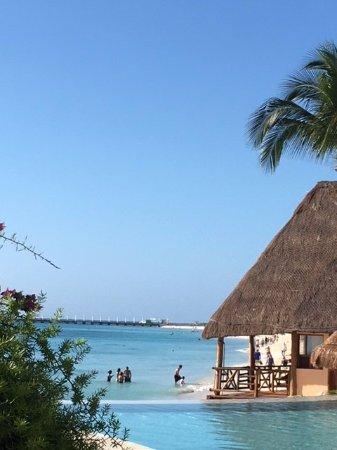 Mahekal Beach Resort: View from pool