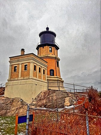 Two Harbors, MN: Views of lighthouse