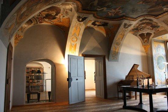 Sternberk, Tschechien: výstavní prostory